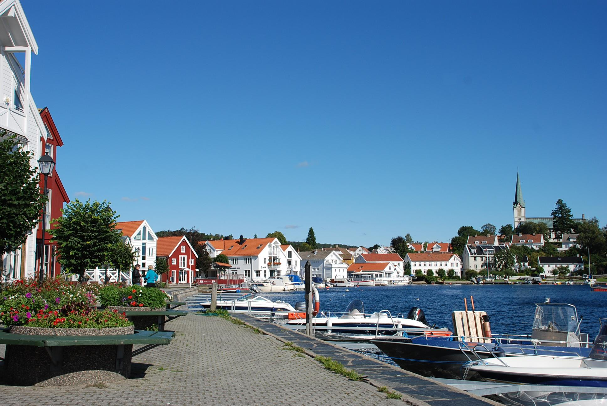 Lillesand front | A Traveler's Photo Journal