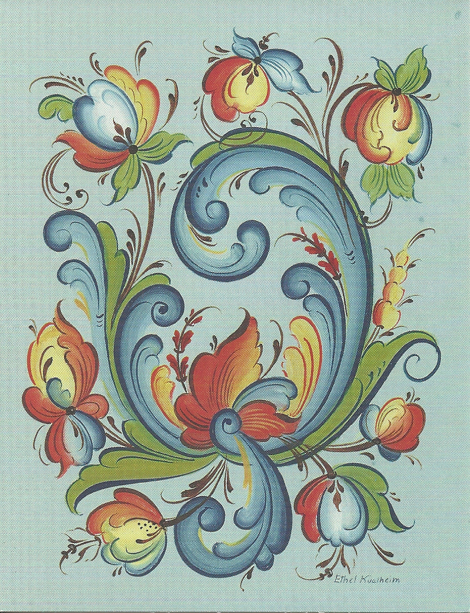 Norwegian Embroidery Designs