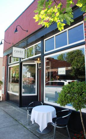 Cuvee.  French dining in the Oregon wine country