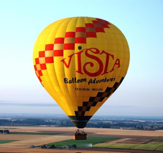 balloon on horizon