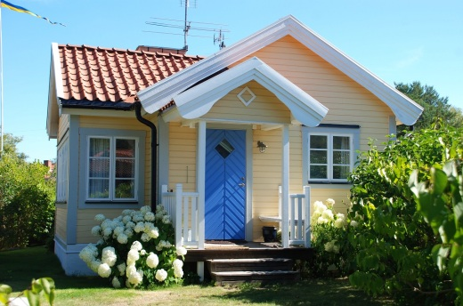 A cute little house in Sandhamn