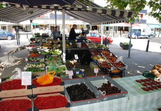 Farmers' market in Vaxholm