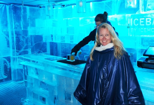Me in the Ice Bar