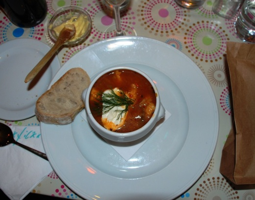 The fish soup