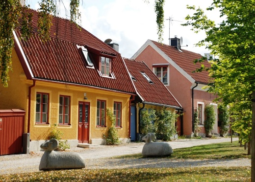 visby houses