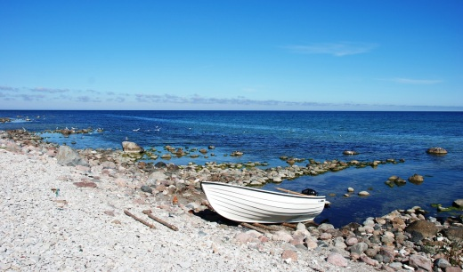 The west coast of Gotland