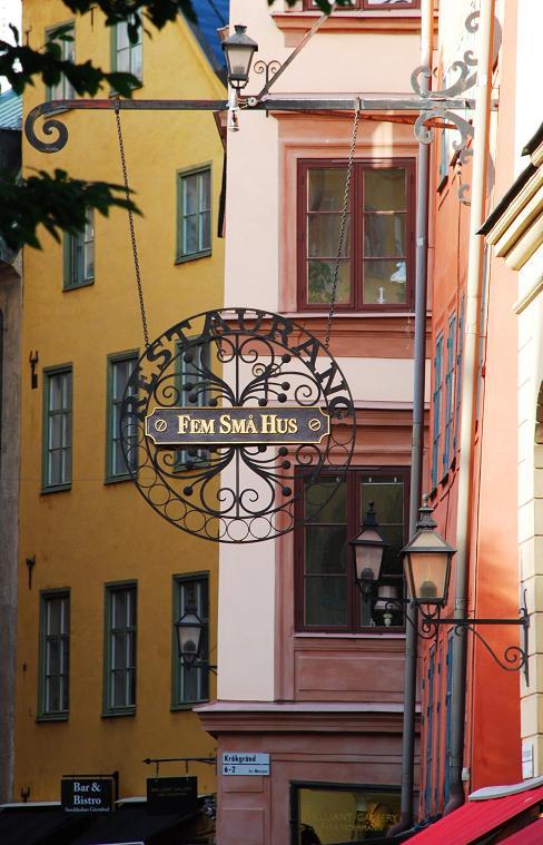 Fem Sma Hus sign