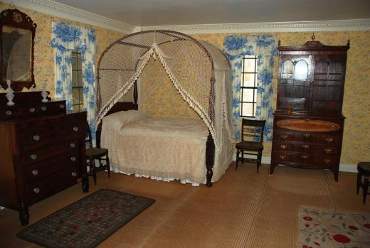 Aldrich House bedroom.