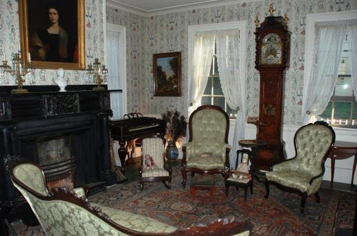 A room in the Goodwin Mansion.