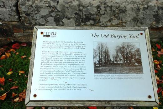 Old York Burying yard