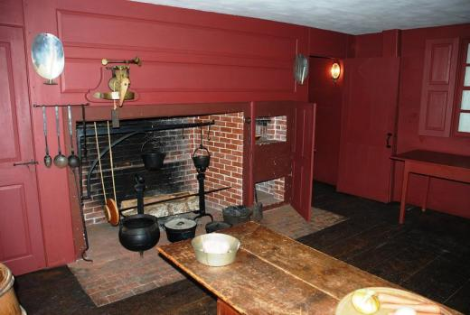 Pitt Tavern kitchen