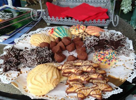 Open house cookies.