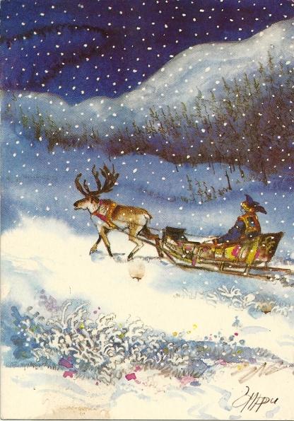 Rauhallista Joulua ja Hyvaa Uutta Vuotta