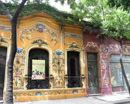 Next door to Carlos Gardel's home and museum