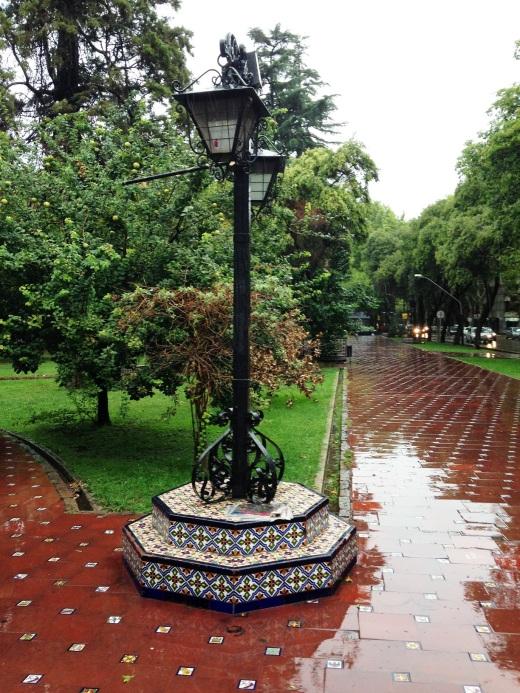 Plaza Espania, Mendoza