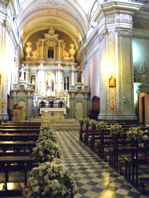 Interior of Iglesia y Convento San Francisco
