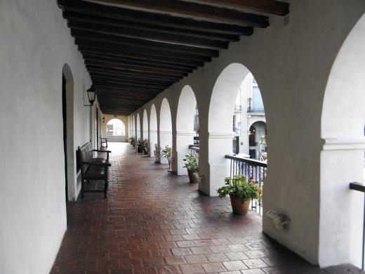 The exterior portico of the Museo del Norte