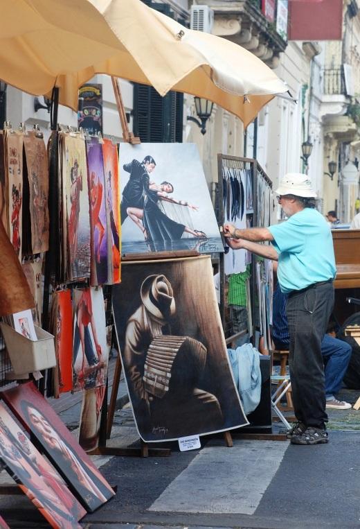San Telmo street vendor