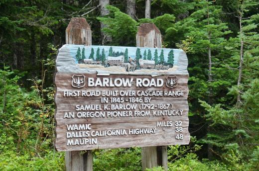 Barlow Road sign