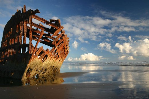 Peter Iredale photo from the website