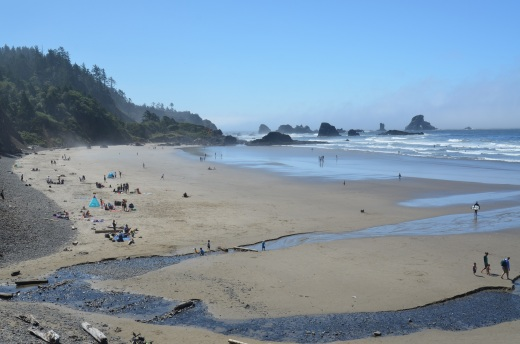 Indian Beach at Ecola State Park, Oregon