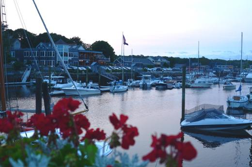 Kennebunkport at sunset