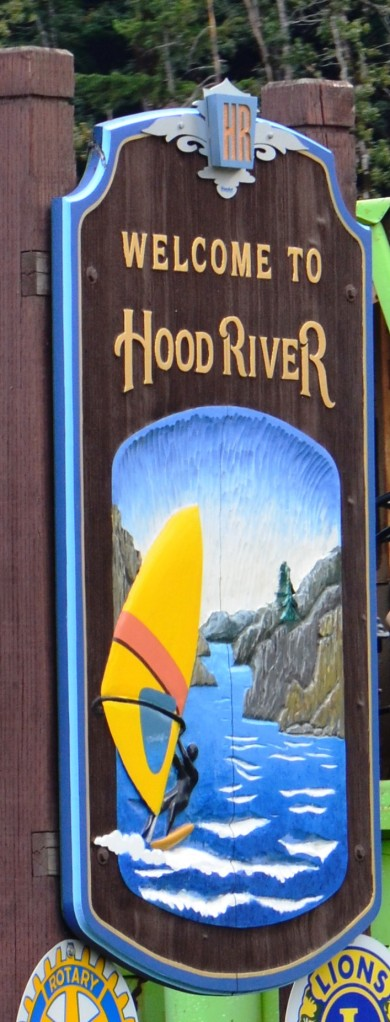 Welcome to Hood River, the windsurfing destination of choice in Oregon