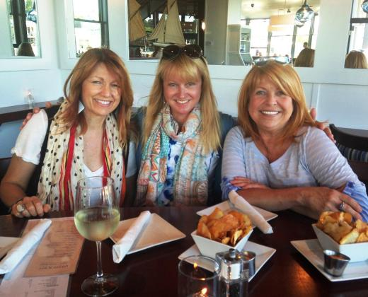 The Girls, at David's in Kennebunkport, Maine