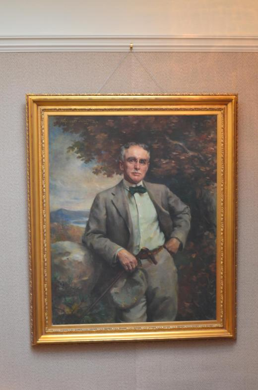 Painting of Mr Thomas Plant, 1859 - 1941