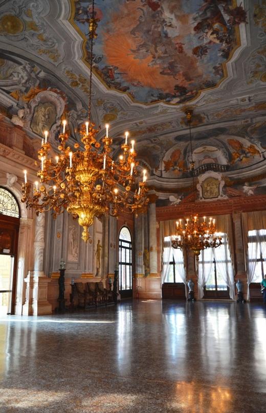 Ca' Rezzonico grand ballroom