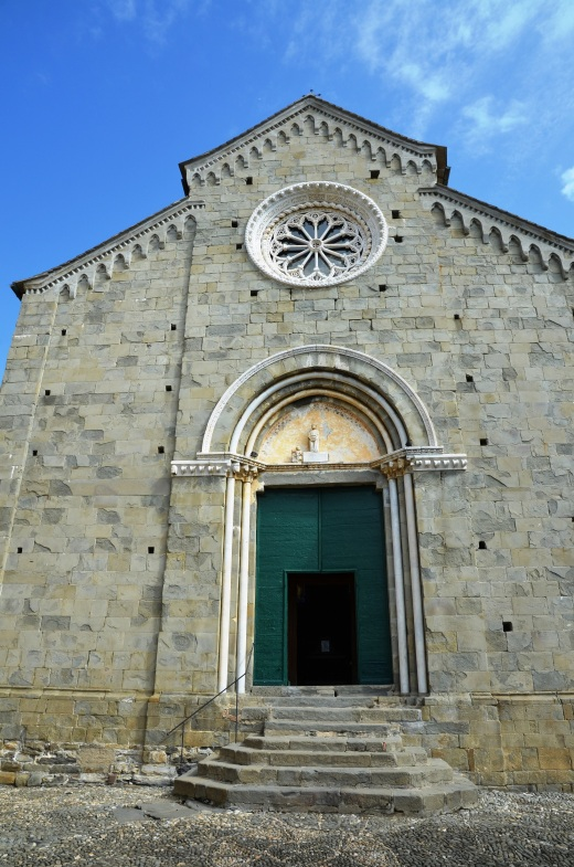 The church in Corniglia, at the end of the portion of trail we hiked.