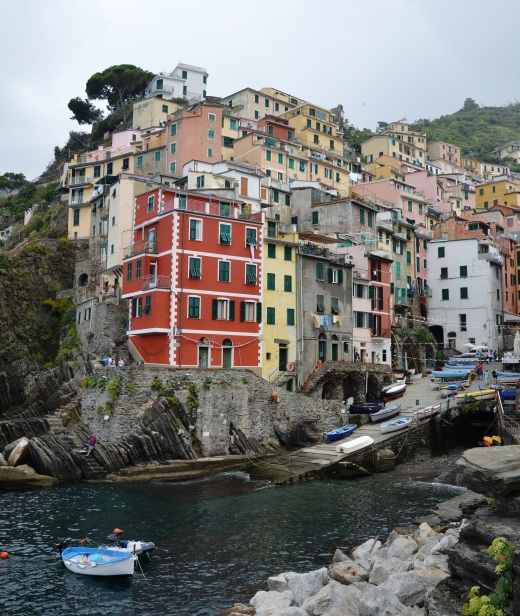Riomaggiore.  This is the eastern most town of the Cinque Terre