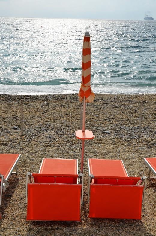 The beach at Santa Margherita