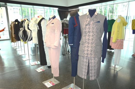 Italian fashion academy student creations on display