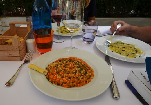 A very good risotto in Verona