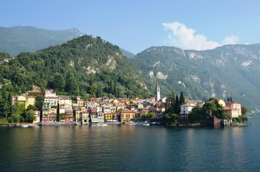 Varenna from the ferry