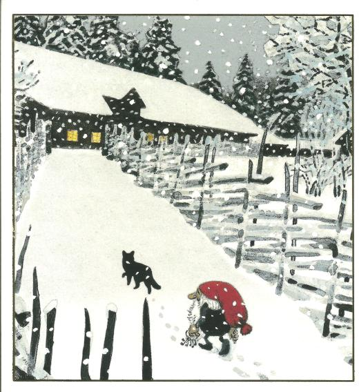 Norweigan Christmas card