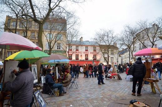Place de Tertre in Montmartre