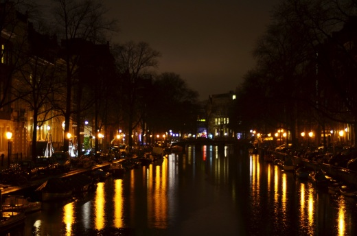 Herengracht at night