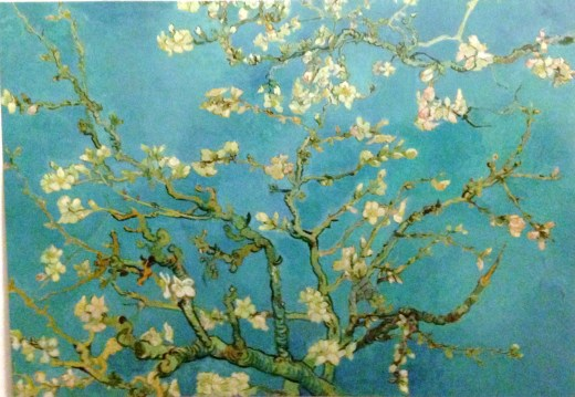 Almond blossom, Saint-Remy, February 1890, painted as a gift for his new nephew