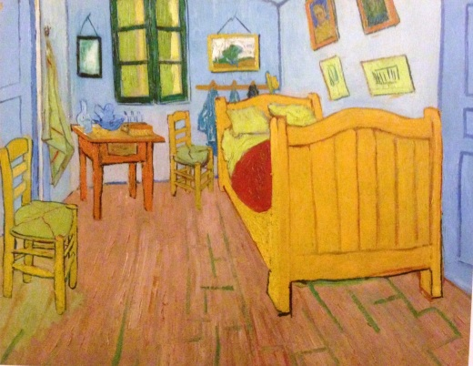 The Bedroom, Arles, October 1888