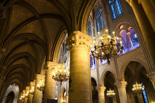 Notre-Dame interior