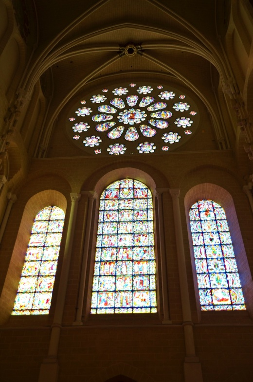 The East Rose window
