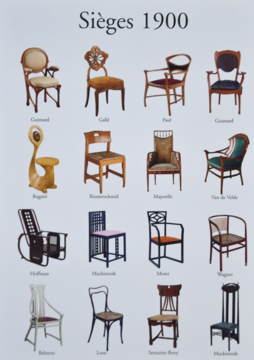 Postcard of some of the chairs