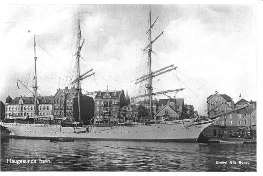 A postcard my dad had of the Statraad Lehmkuhl from his days as a cadet in 1939