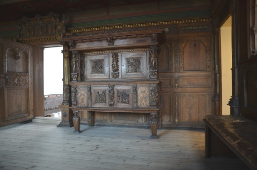 The room from 1602 in the Aalborg Historical Museum