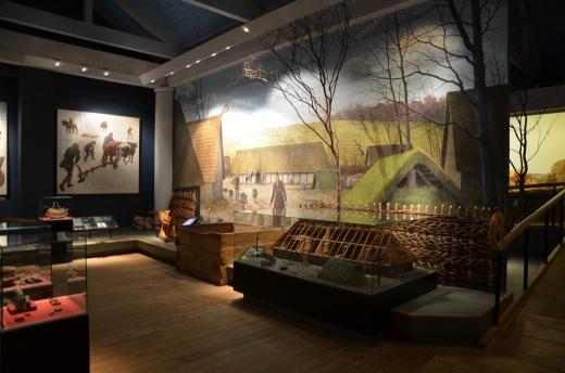 Lindholm Hoje museum interior