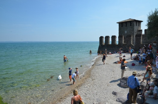 Sirmione beach