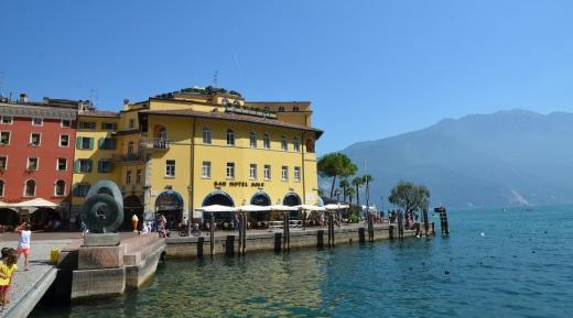 Riva del Garda waterfront