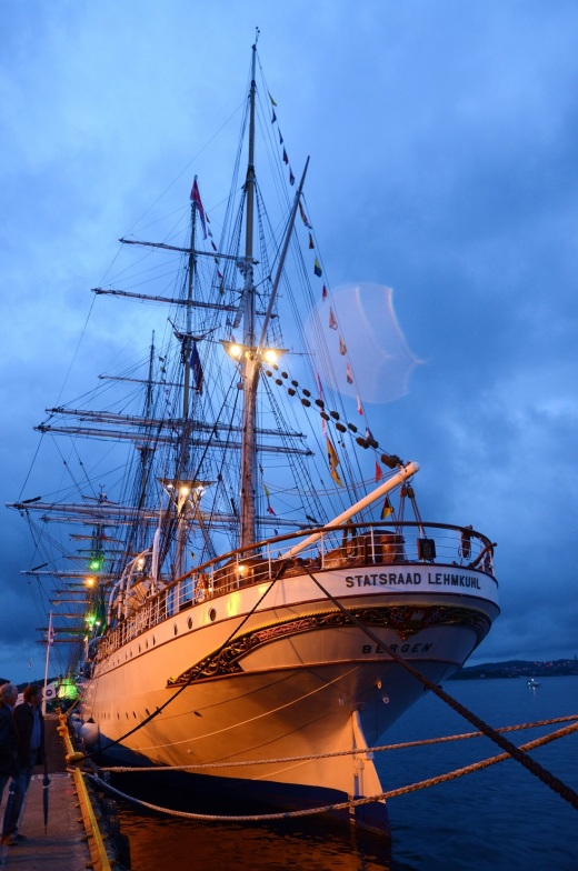 Our ship, the Statsraad Lehmkuhl